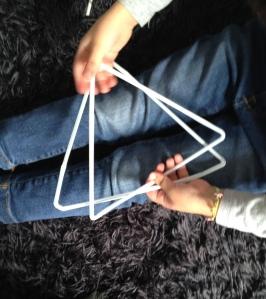 8 Preparando piramide