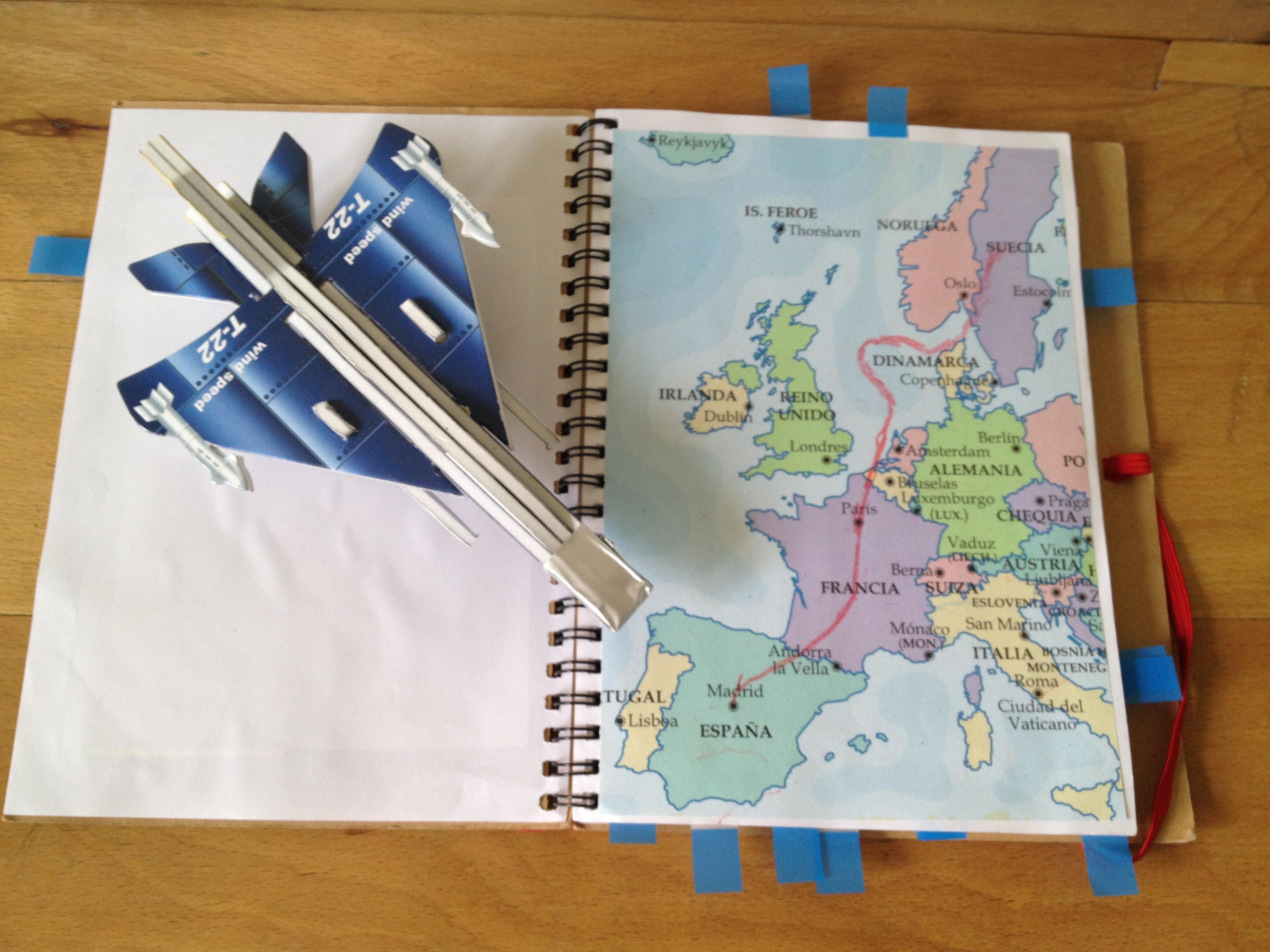 como hacer un libro viajero | pepitaliving