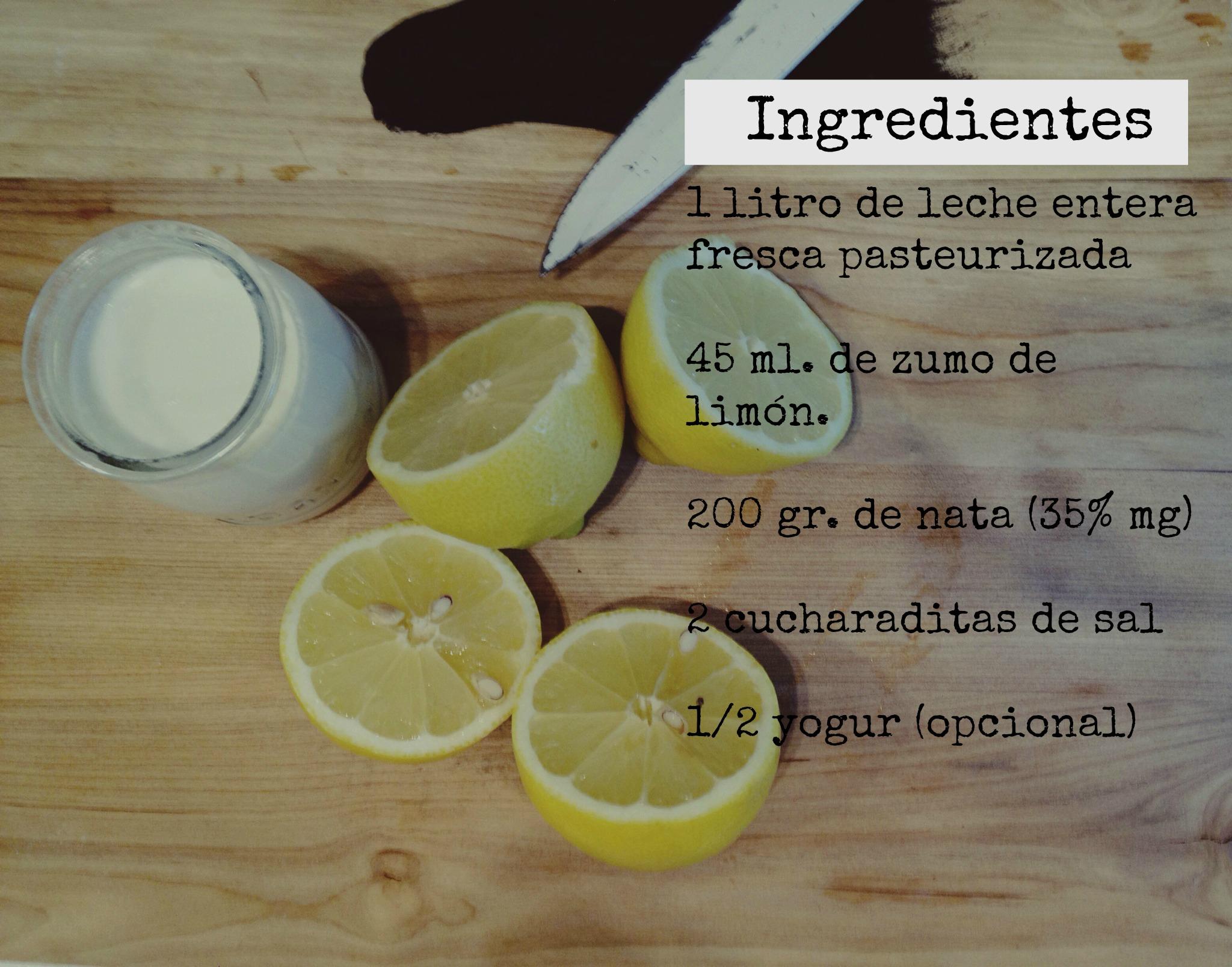 como se prepara el queso de leche